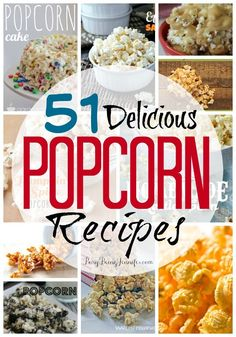 I thought it only fitting that I share some of the yummiest popcorn recipes around with you in honor of National Popcorn Day!