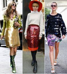 street style paillettes sequins prada