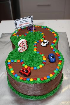 Rsultat Dimages Pour Three Year Old Boy Birthday Cake