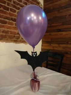 Centro de mesa vampirina!!! Facial