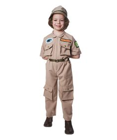 Khaki Zookeeper for Ben's Costume