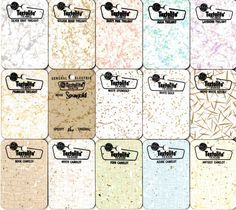 Superieur Vintage GE Textolite Laminate Samples #laminate #midcentury #ge #countertops
