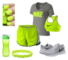 """""""NIKE"""" by marydudich on Polyvore featuring NIKE and Sistema"""