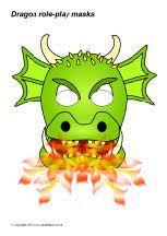 Dragon role-play masks