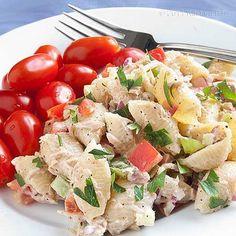 Tuna Pasta Salad 1 by kitchenriffs, via Flickr