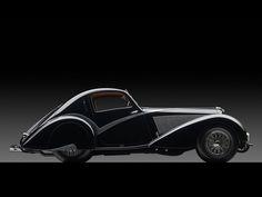 1936 Delahaye Type 135 Competition Court Teardrop Coupé by Carrosserie Figoni et Falaschi | Art of the Automobile 2013 | RM AUCTIONS