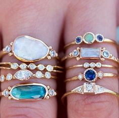 Mouth watering rings!! #loveaudryrose
