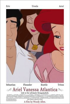 The Little Mermaid / If Your Favorite Disney Movies Were Written By Woody Allen (via BuzzFeed)
