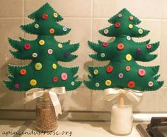 christmas tree tutorial pannolenci