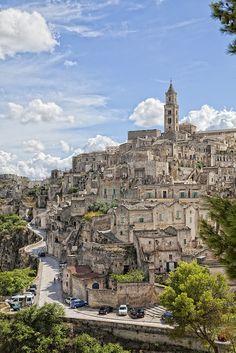 Quartiere Sassi - Matera(Basilicata, Italy) by albygent Alberto Gentile on Flickr.