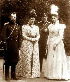 maria pavlovna the elder - With Nicky and Alix
