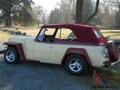 jeepster willys