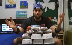 Watch This Guy Eat Every Burger Available At Burger King