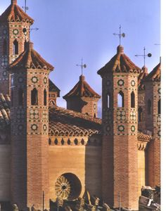 Torre San Martin.Teruel.Spagna