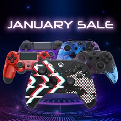 🎮Our January Sale is now on!🎮 Shop our exclusive range of customised controllers before our January discounts finish!👀 Xbox Wireless Controller, Game Controller, The Newest Xbox, Xbox One Pc, Playstation 5, Chrome Colour, Metal Gear Solid, Ps4 Games, January