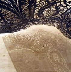 Lost in Lace-transparent boundaries by Piper Shepard. Possibly my most favourite artist in the world!