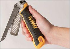 dewalt-folding-jab-saw Mechanic Tool Box, Handyman Projects, Dewalt Tools, Carpentry Tools, Tool Shop, Survival Tools, Tools And Equipment, Tool Storage, Home Repair