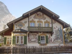 A Bavarian House in Germany