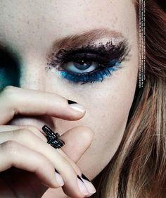 #ZannaVanVorstenbosch by #JamieNelson for #Nylon August 2014 (makeup: Jenny Smith)