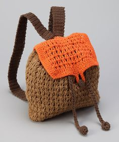 Take a look at this Pumpkins & Carrots Coopers Crochet Backpack  to purchase