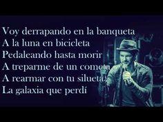 Ricardo Arjona-A la luna en bicicleta (Letra) - YouTube
