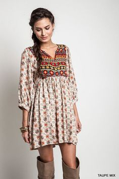 Navajo Winter Moon Top - Taupe – Angel Heart Boutique