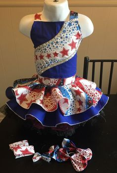 National Pageant Patriotic Casual Wear Size 18mos 3T | eBay