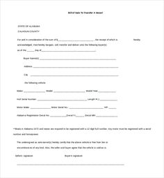 Horse Bill Of Sale  Bill Of Sale Template Word To Use And How To
