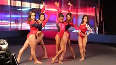 'Fierce Five' Behind The Scenes - Images from behind the scenes at a photo shoot with the 'Fierce Five.' | NBC Olympics