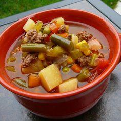 Hobo Beef and Vegetable Soup