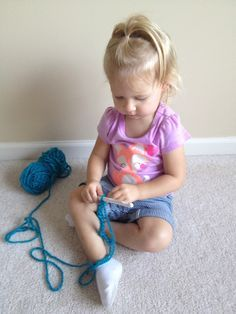 Crochet can start at a young age as little as two or three years old. Learning how to teach kids to crochet can prove to be difficult, but with patience and the right materials you can make it easier on yourself and on the kids. Check out this great guide.