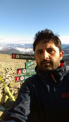 Gaustatoppen mountain hike