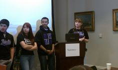 Arts Academy student presentations at the Rosenbach