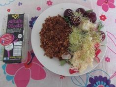 Nicola's Tomato Rice Salad topped with Alfalfa Shoots Tomato Rice, Superfood Salad, Salad Topping, Rice Salad, Summer Salads, Superfoods, Competition, Summer Salad, Super Foods