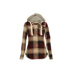 Volcom Circle Flannel Jacket Women's 2014/2015 ❤ liked on Polyvore featuring superdry