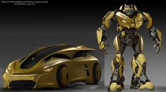 Transformers News: ILM Post Case Study of Bumblebee Movie and Bumblebee Statue Lands At Pier San Francisco Bumblebee Transformers, Transformers Autobots, Transformers Characters, Transformers Prime, Optimus Prime, Foto Top, Arc Reactor, Arte Robot, Architecture Art