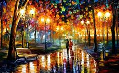 Art,Colors,Couple,Drawing,Oil,Oil colours - inspiring picture on PicShip.com