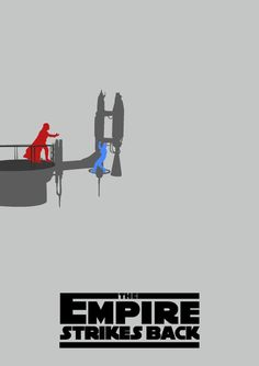 Star Wars: The Empire Strikes Back - movie poster - Lewis Dowsett