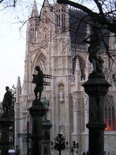 Petit Sablon, Brussels, Belgium