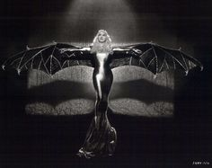 Mae West in a bat costume from Belle of the Nineties, 1934