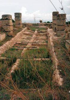 Boat slip, harbor of (Punic) Carthage