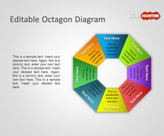 Free Editable Octagon Diagram for PowerPoint is another original PowerPoint template with shapes that you can download #diagram #powerpoint #templates #PPT