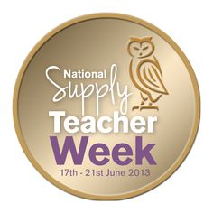 National Supply Teacher Week 17th - 21st June 2013 Are you supporting it? Do you feel supported? Visit TheSupplyTeacher.com for information!