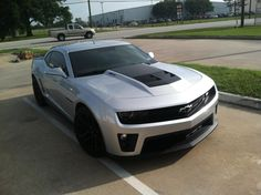Official SILVER ICE METALLIC ZL1 Blacked