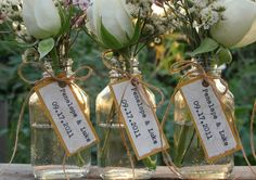 Use Bride & Groom Names with the wedding Date as a Wedding favor, Bridal Shower Favor