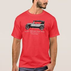 Elgin Motor Car shirt Argo-Summit IL If you are an antique Car Collector, this shirt is for you. Support the Summit Public Library Historical Archives witbh this commemorative Elgin 6 T-shirt Argo, Collector Cars, Motor Car, Tshirt Colors, Antique Cars, Fitness Models, Public, Unisex, Casual
