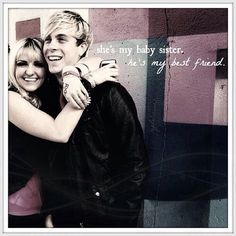 Riker and Rydel <3