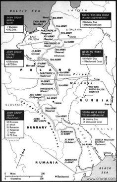 Order of Battle Operation Barbarossa