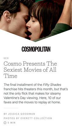 Cosmo artical on oral sex