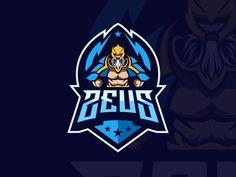 Zeus designed by BEMBENG DT. Zeus Game, Joker Images, Lion Images, Samurai Artwork, Rapper Art, Game Logo Design, Logo Sticker, Sports Logo, Identity Design